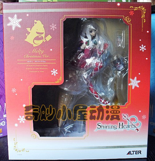 Anime Warehouse | Melty Do Granite - Shining Hearts: Shiawase No Pan Sexy Ice Cream Christmas PVC Figure Box