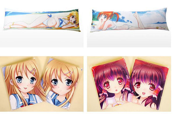 Anime Warehouse | Maki Nishikino Stockings and Top Hat Double-sided Sexy Hentai Body Pillow Cover - Love Live! School Idol Project Dakimakura Example