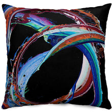 'Fiesta En La Calle' Throw Pillow