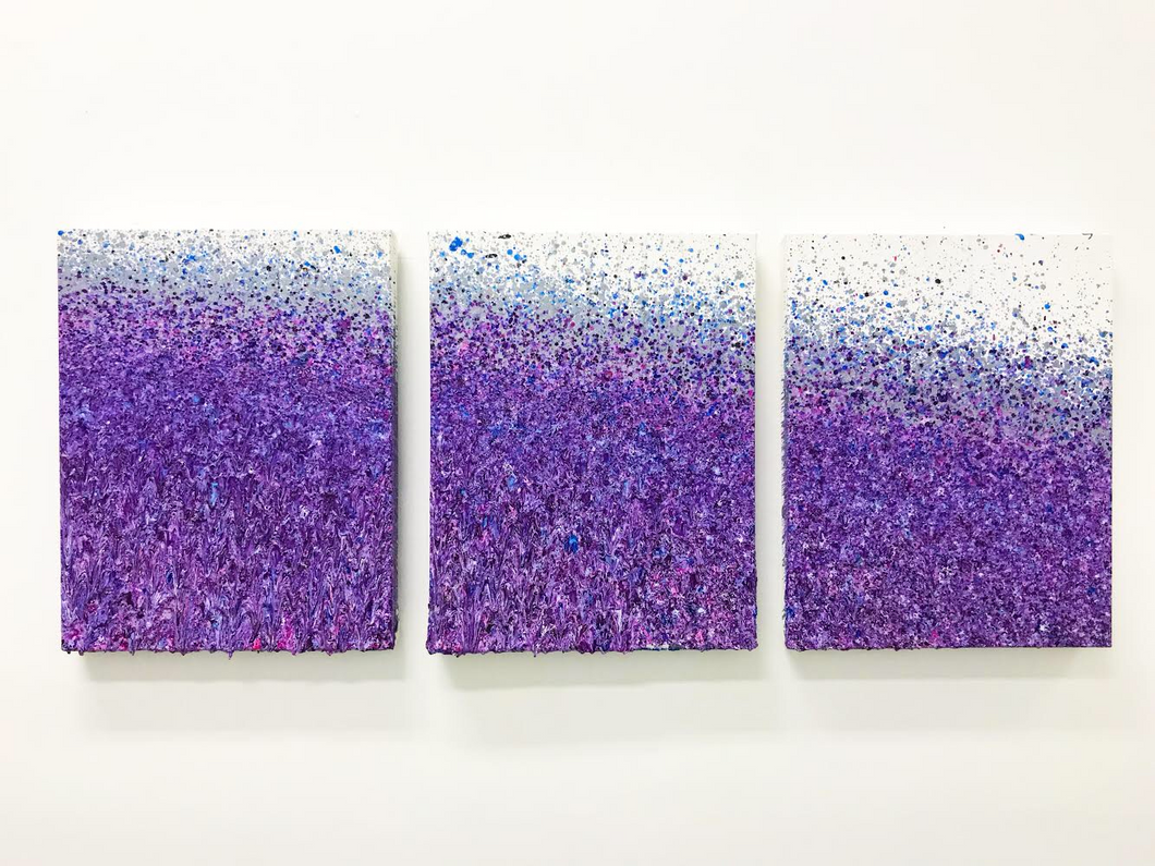 Off-Spray (Triptych) (SOLD)