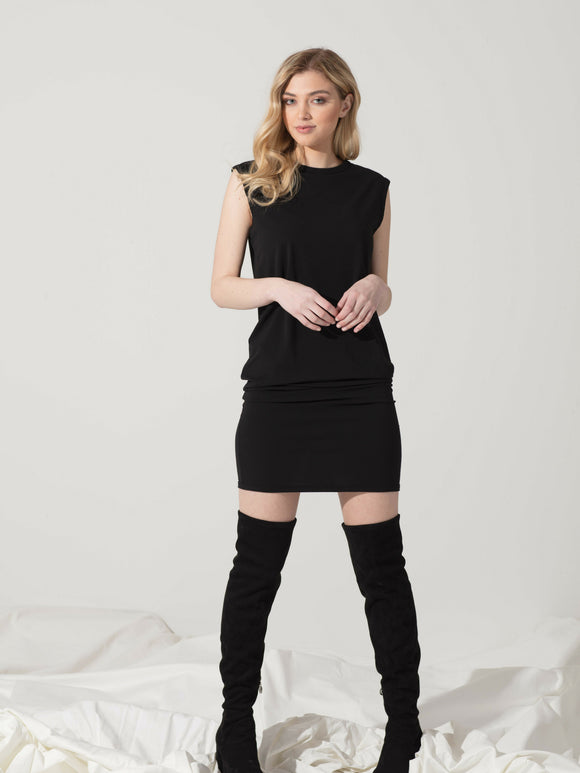 Sleeveless Short Dress - SBASE