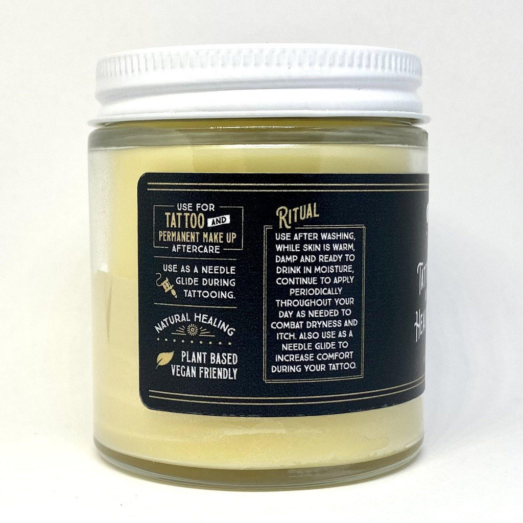 Tattoo Glide & Healing Balm - Olio Skin & Beard Co.