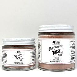 Make Yourself Rosy Mask - Olio Skin & Beard Co.