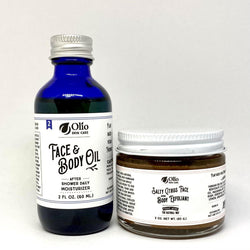 Basic Skin Care Set - Olio Skin & Beard Co.