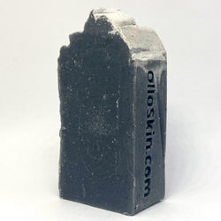 Activated Charcoal, Peppermint Face & Body Soap - Olio Skin & Beard Co.