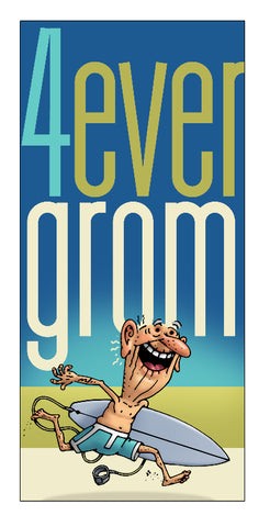 4ever Grom Sticker