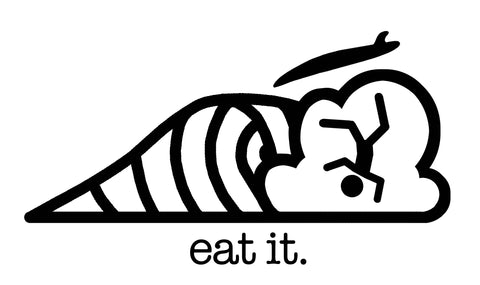 Eat It Sticker