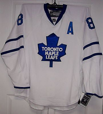 huge selection of c4530 d8a1c KESSEL Reebok EDGE 1.0 7187 Toronto Maple Leafs Away White Jersey