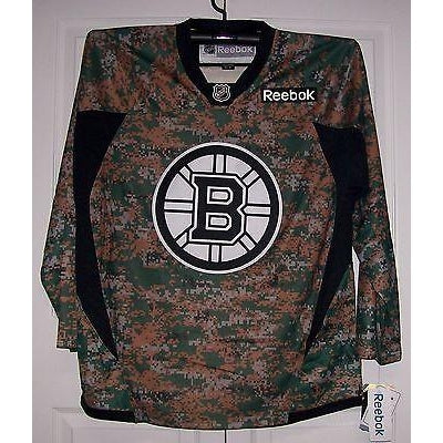 sports shoes b69ea bea51 CAMO Boston Bruins Reebok Premier 7352 Jersey