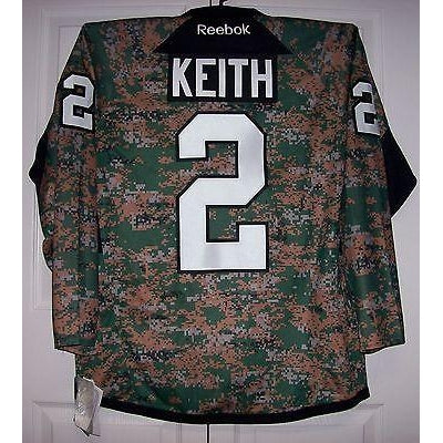 KEITH Military Camo Chicago Blackhawks Reebok Premier Jersey ... bab071abc