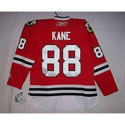 premium selection caec7 3f2a5 KANE Womens Chicago Blackhawks Reebok Premier Ladies Home Red Jersey