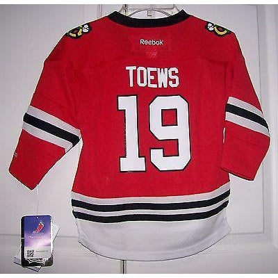 TOEWS Chicago Blackhawks Youth Pre-School Toddler Replica Reebok HOME Red  Jersey ec5f674e1
