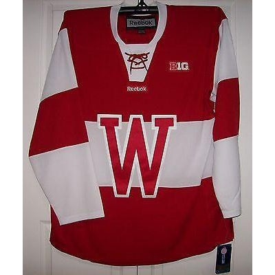 Wisconsin Badgers New Red