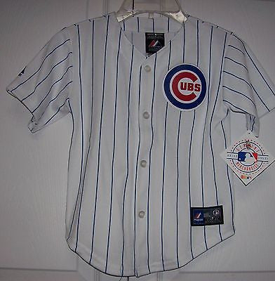 premium selection 0e524 58226 RIZZO Chicago Cubs YOUTH Majestic MLB Baseball jersey HOME White