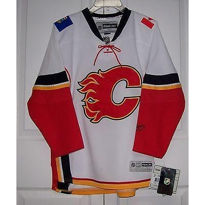 reputable site f96e8 ed0cd Calgary Flames Jerseys - Hockey Jersey Outlet