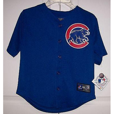 Chicago Cubs Toddler Majestic MLB Baseball jersey Alternate Royal ... db0b6bbd6fa