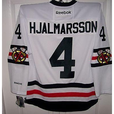 outlet store 243ae 23fbf HJALMARSSON 2017 Winter Classic Chicago Blackhawks Reebok Jersey