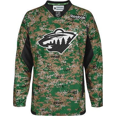 LADIES WOMENS Stadium Series Minnesota Wild 2016 Reebok Premier Jersey  Customizable  65.99  99.99. Sale. Military CAMO Minnesota Wild Reebok  Premier Jersey 683824092