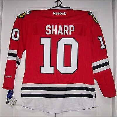 a60b6534d SHARP Womens Chicago Blackhawks Reebok Premier Ladies Home Red Jersey.   85.99  129.99. Size