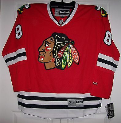 a27b2fab4 KANE Chicago Blackhawks Reebok Premier 7185 HOME Red Jersey - Hockey ...