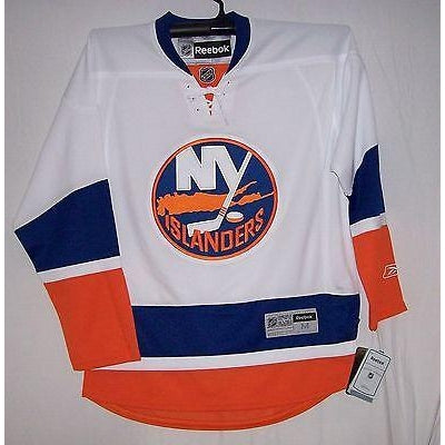 timeless design 1cafc 42b21 New York Islanders Reebok Premier 7185 Away White Jersey