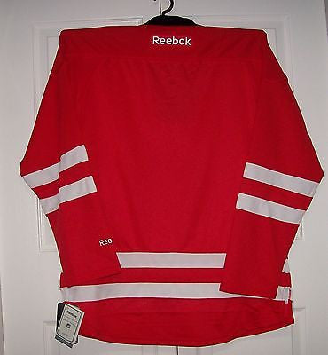 Carolina Hurricanes Reebok Premier NEW Home Red Jersey - Hockey ... 826b6c227