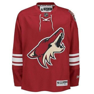9c80c9b0f Phoenix Coyotes YOUTH Reebok Premier 7185 Home RED Jersey - Hockey ...
