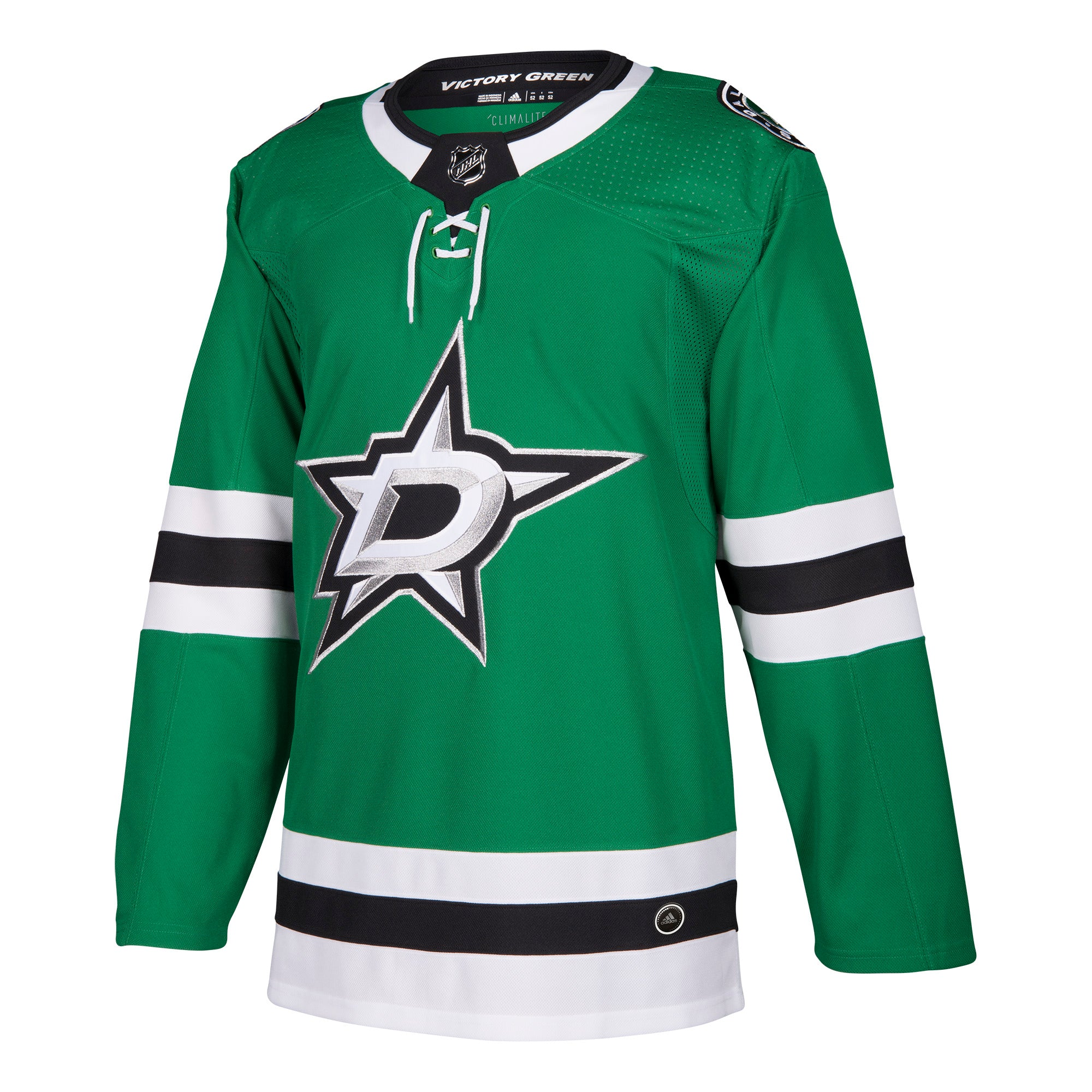 96d68d4e Dallas Stars HOME GREEN 252J Adidas NHL Authentic Pro Jersey ...