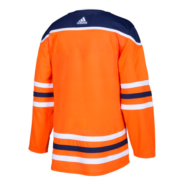 ac2509e56a5 Edmonton Oilers HOME 252J Adidas NHL Authentic Pro Jersey - Hockey Jersey  Outlet