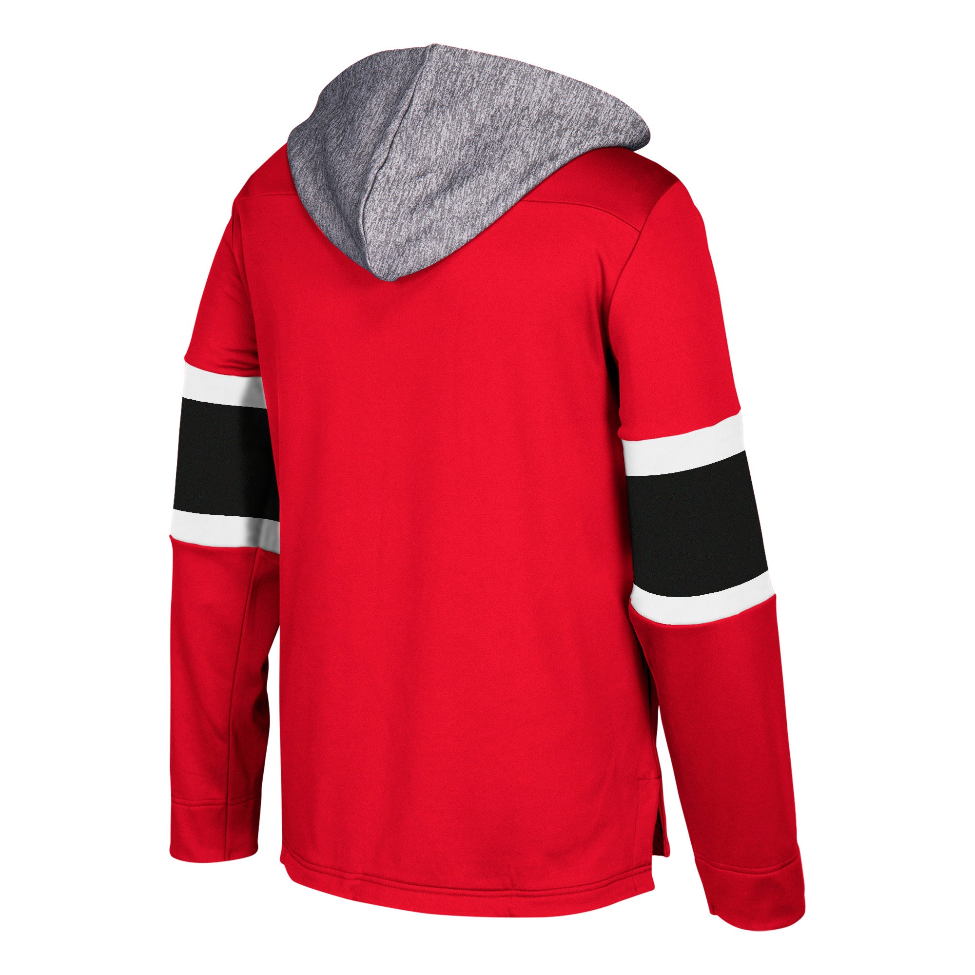 the latest a6842 5a6e9 678F Adidas Chicago Blackhawks Red Platinum Jersey Hood Hoodie