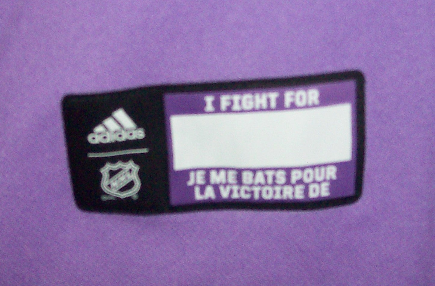 low priced 1f2ea 808f7 Hockey Fights Cancer Tampa Bay Lightning Purple 255J Adidas NHL Authentic  Pro Jersey
