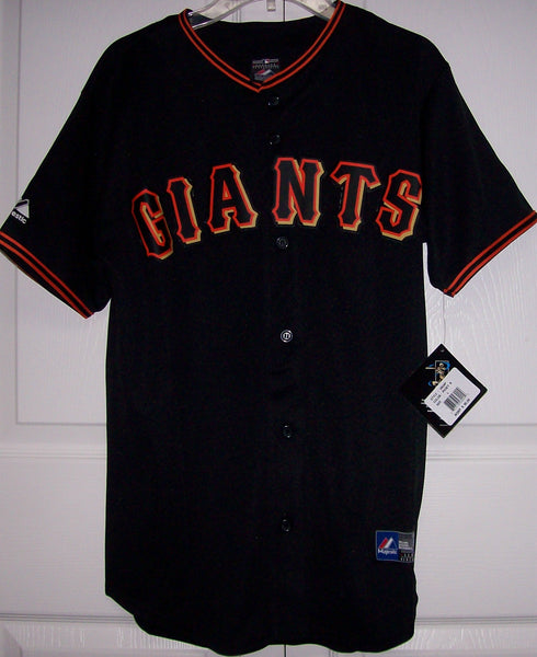 new style 6bc53 59ba4 POSEY San Francisco Giants YOUTH Majestic MLB Baseball jersey Black