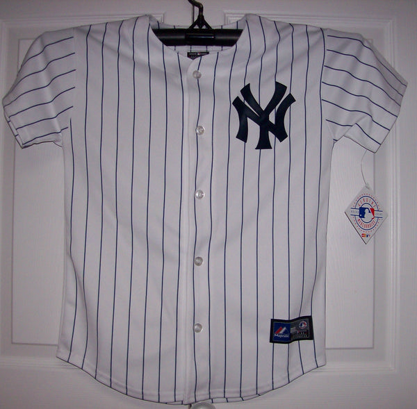 ... hot new york yankees youth majestic mlb baseball jersey home white hockey  jersey outlet d3c69 db1d0 d18212bdb