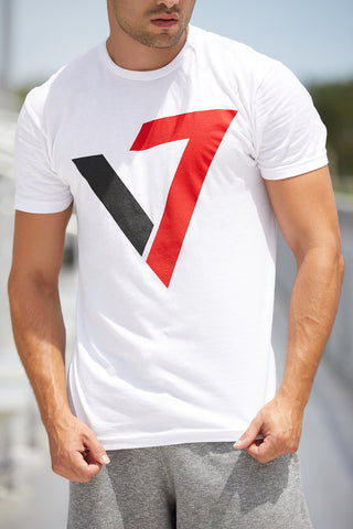 V7 Logo Shirt-White