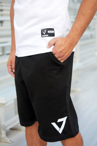 V7 Logo Short-Black