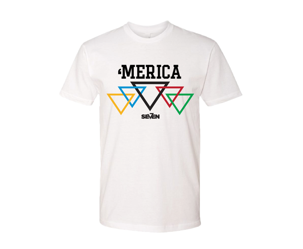 Merica Graphic T-shirt-White