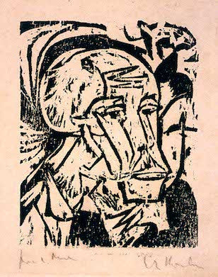 BROKEN BRUSHES: GERMAN EXPRESSIONIST PRINTS BY HITLER'S DEGENERATE ARTISTS