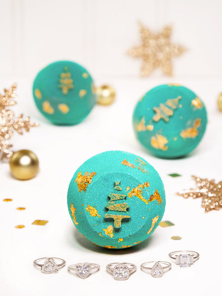 Christmas Tree Bath Bomb - Classic Ring Collection