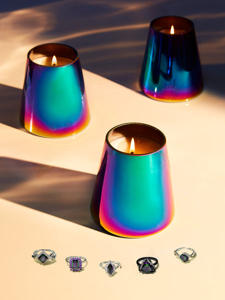 Mystic Topaz Ring Candle