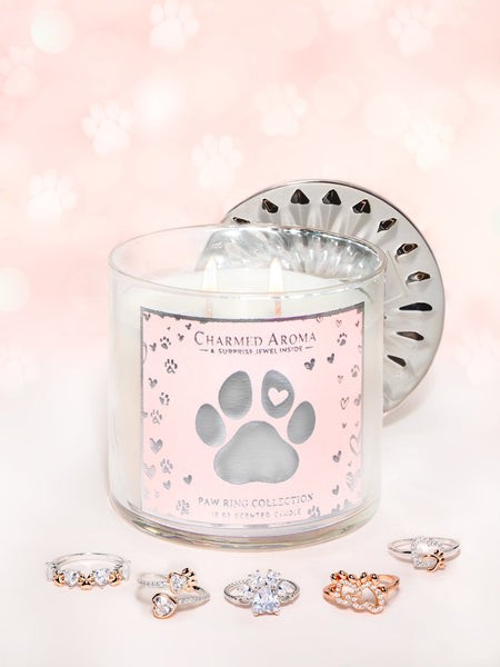 Paw Candle - Paw Ring Collection (Returning Soon!)
