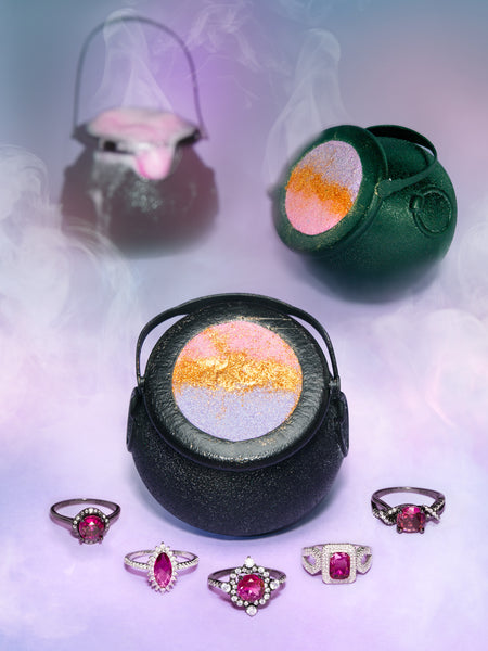 Cauldron Bath Bomb - Potion-Inspired Ring Collection