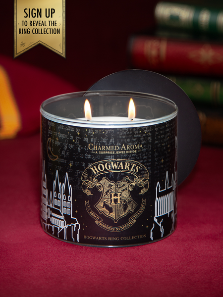 Harry Potter Hogwarts Candle - Hogwarts House Ring Collection (Coming Soon!)