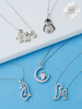 Penguin Candle - 925 Sterling Silver Penguin Necklace Collection