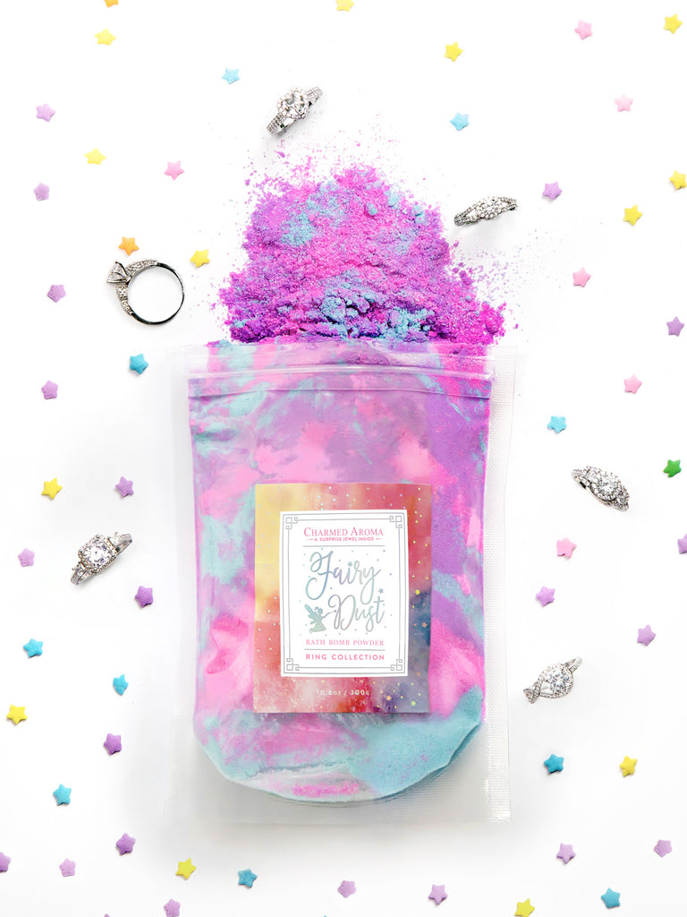 Fairy Dust Bath Bomb Powder - Classic Ring Collection