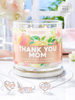 Thank You Mom Candle - 925 Sterling Silver Mom Necklace Collection