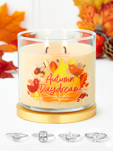 Autumn Daydream Candle - Ring Collection