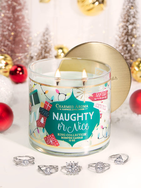 Naughty or Nice Candle - Classic Ring Collection