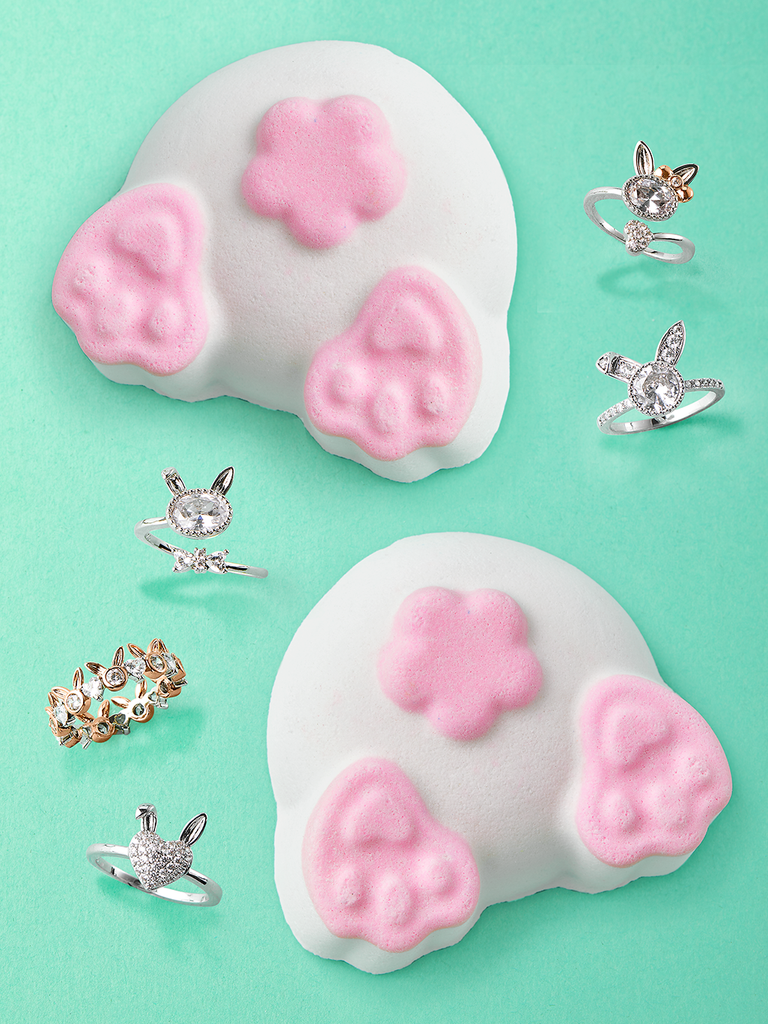 Bunny Butt Bath Bomb - Bunny Ring Collection