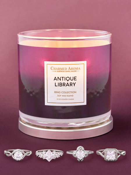 Antique Library Candle - Ring Collection