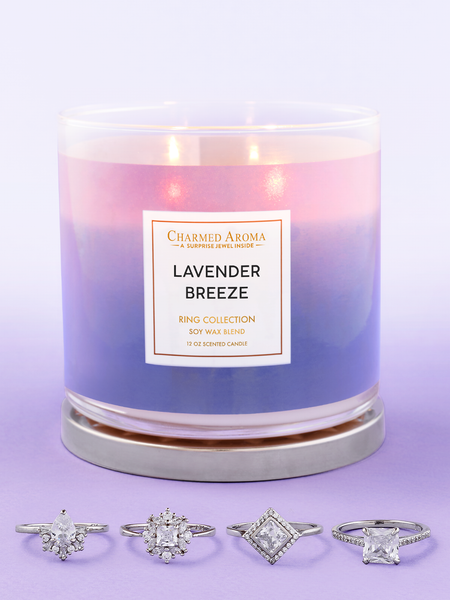 Lavender Breeze Candle - Ring Collection
